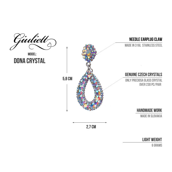 GIULIETT DONA CZECH CRYSTAL RED