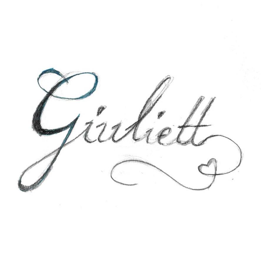 Giulett logo skica